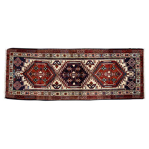 "Persian Heriz Rug, 2'4"" x 6'3"""