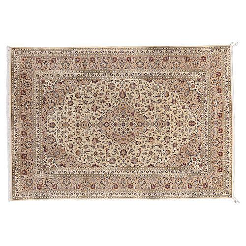 """Persian Kashan Rug, 8' x 12'9"""""""