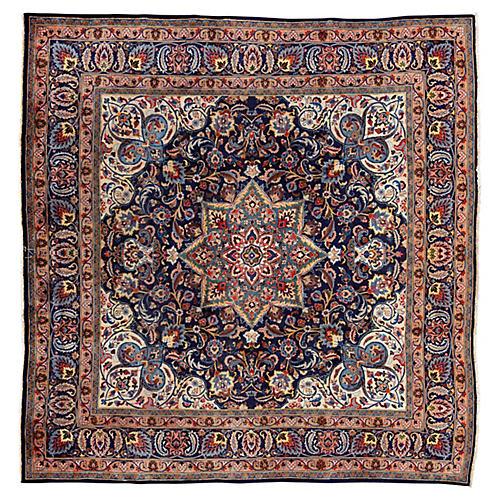 "Vintage Persian Rug, 9'5"" x 9'7"""
