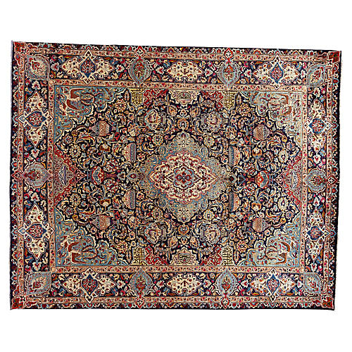 "Vintage Historic Persian , 10'0"" x 12'6"""