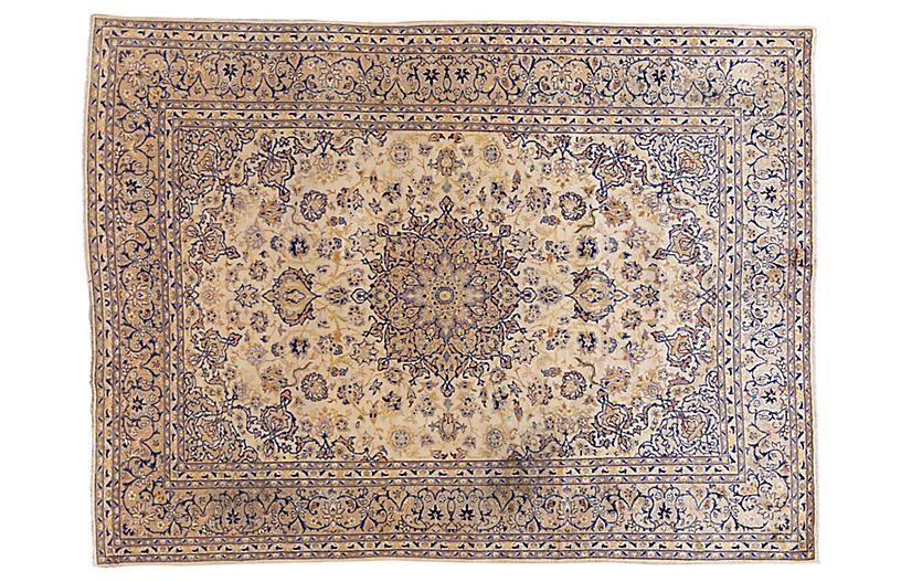 Persian Kashan Carpet, 9'5