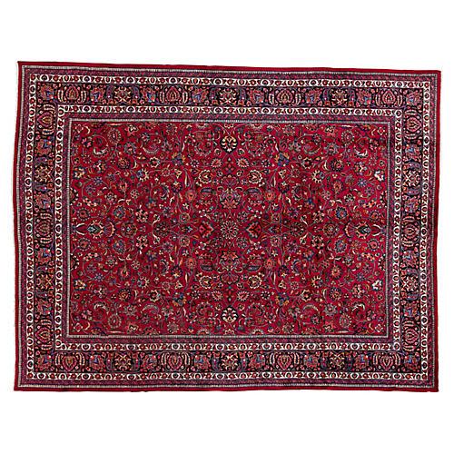 "Vintage Persian Rug, 10'0"" x 13'0"""