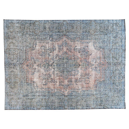 "Distressed Carpet, 10' x 13'5"""