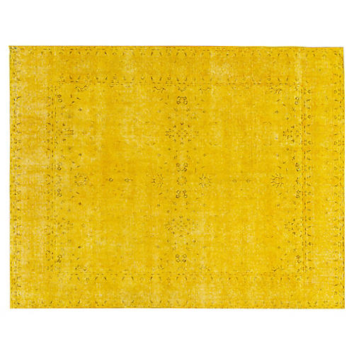 "Distressed Carpet, 9'10"" x 12'7"""