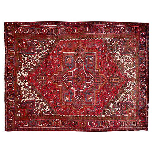 "Persian Heriz Rug, 8'8"" x 11'3"""