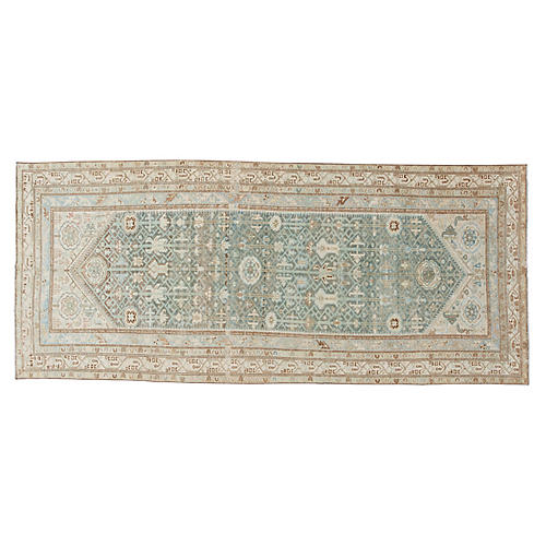 "Antique Malayer Rug, 5'3"" x 12'"