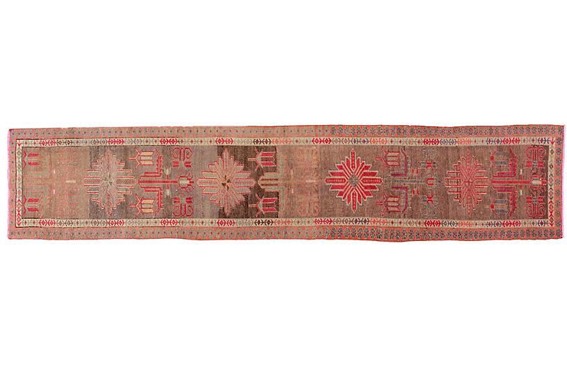 Vintage Turkish Wool Runner