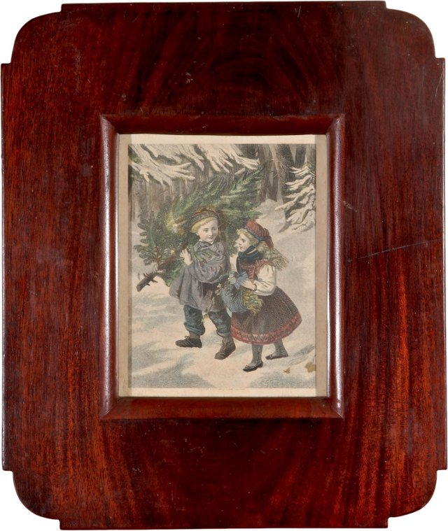 Victorian Christmas Engraving