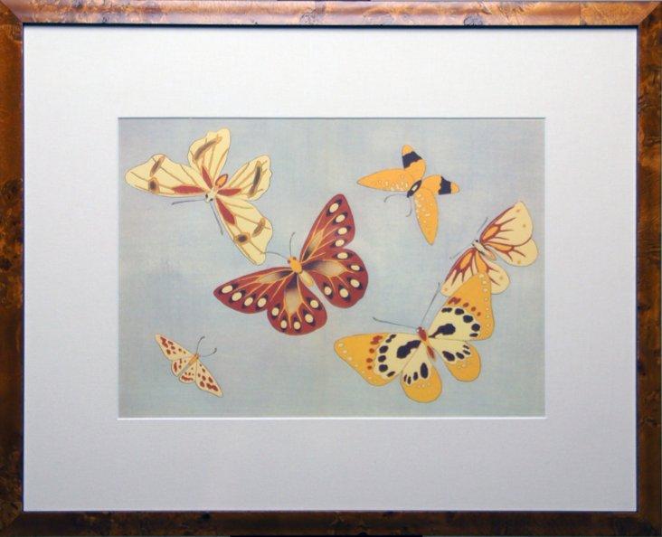 Red & Yellow Butterflies