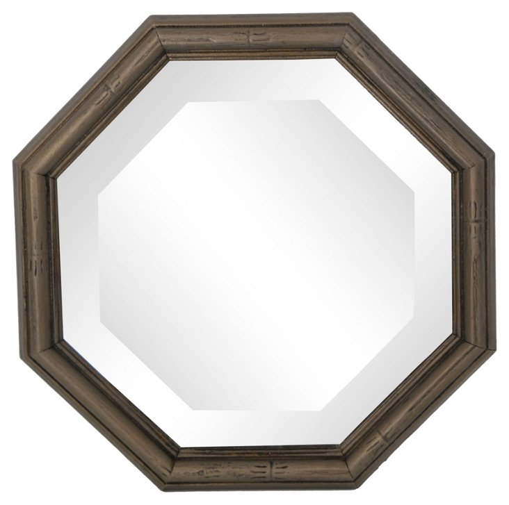 Beveled Octagonal  Mirror