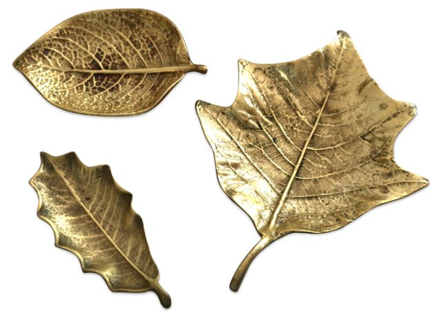Leaf Tray Collection, S/3