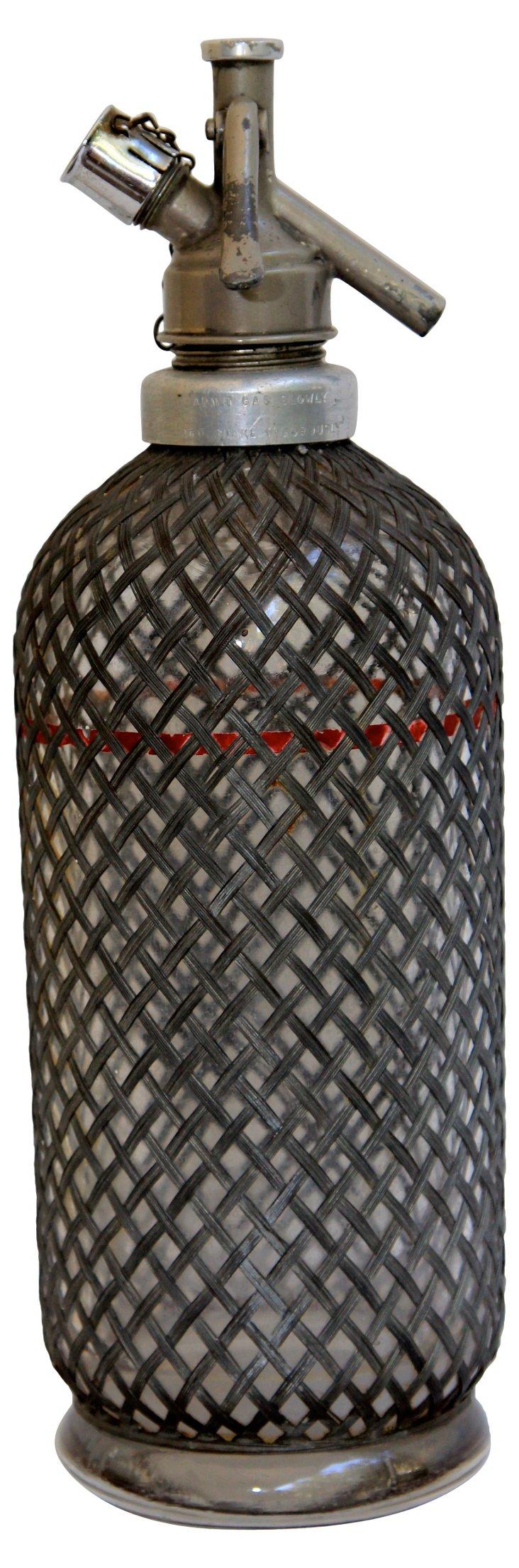 Lead-Wrapped Seltzer Bottle