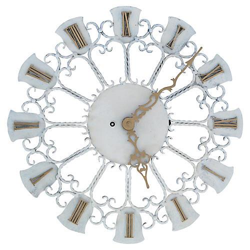 European Iron Wall Clock