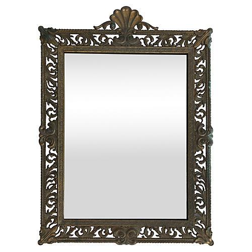 Italian Metal Mirror