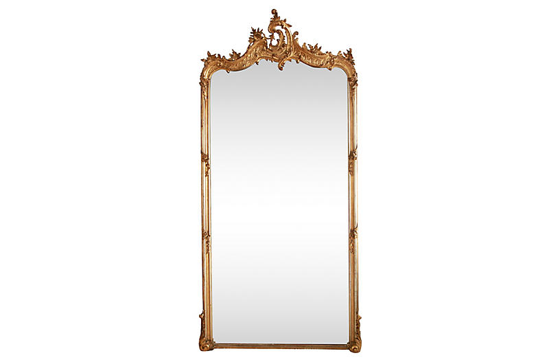 Grand Parisian Salon Mirror