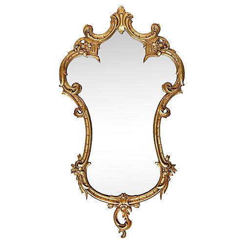 Florentine Baroque-Style Mirror
