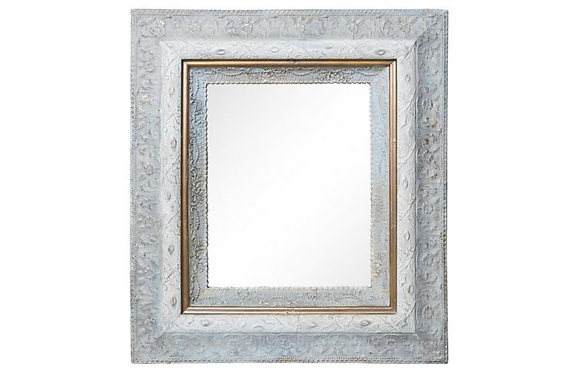 Ornate Victorian Framed Mirror
