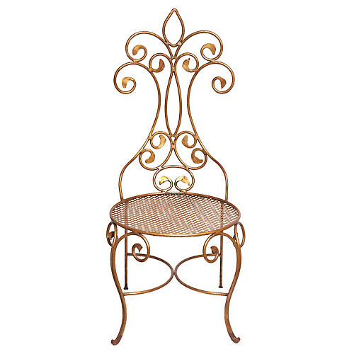 Jean-Charles Moreux French Vanity Chair
