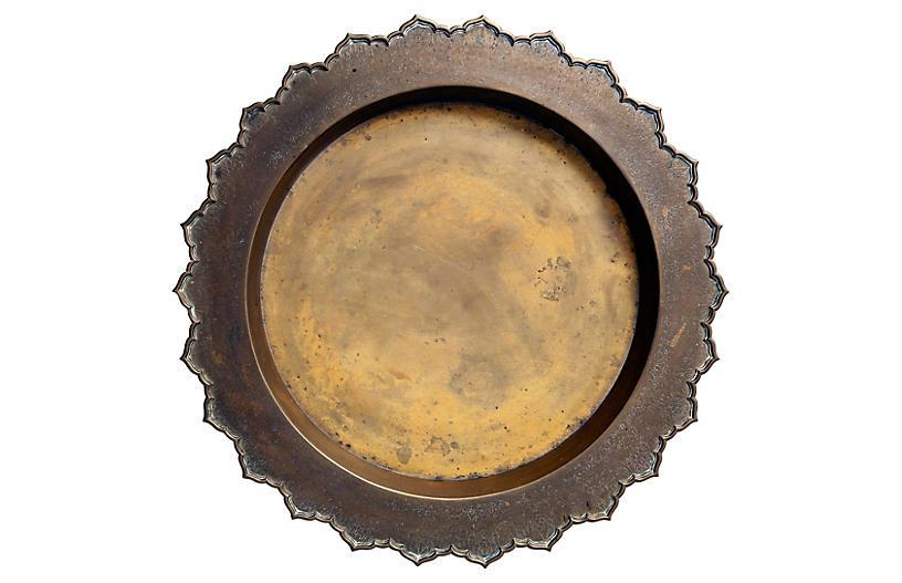 Indonesian Brass Tray