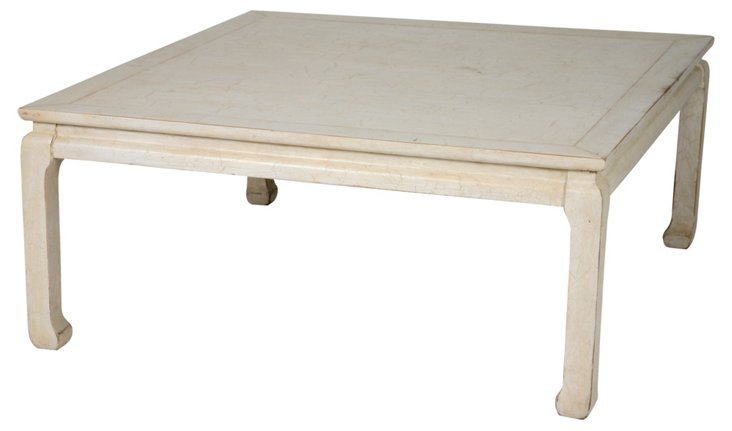 Square Ming-Style Coffee Table