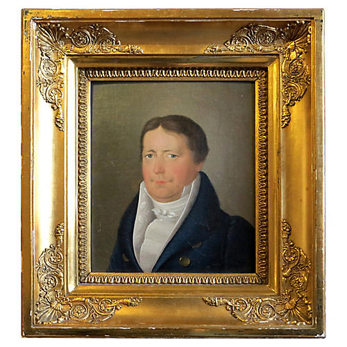 Biedermeier Period Portrait