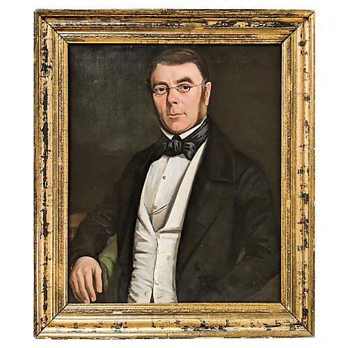 19th-C. Portrait of a Man