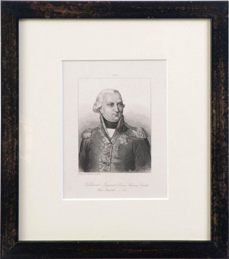 Engraving of Comte Louis-Thomas