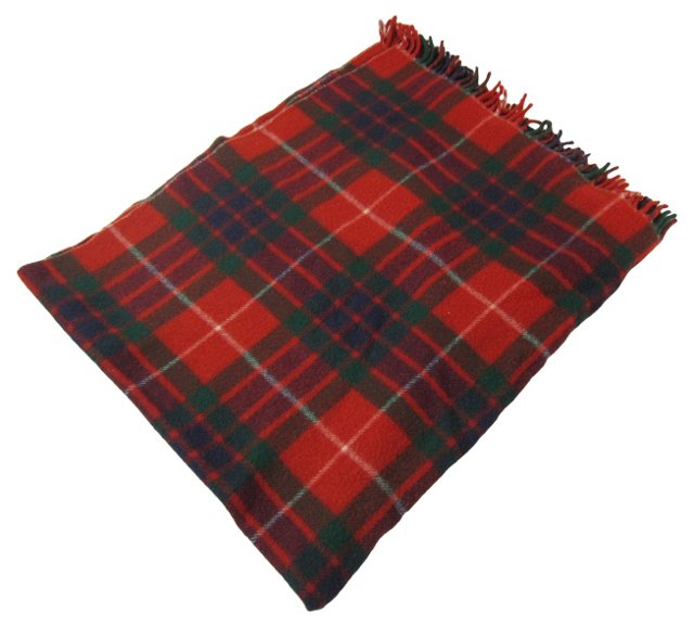 Red Checked Blanket