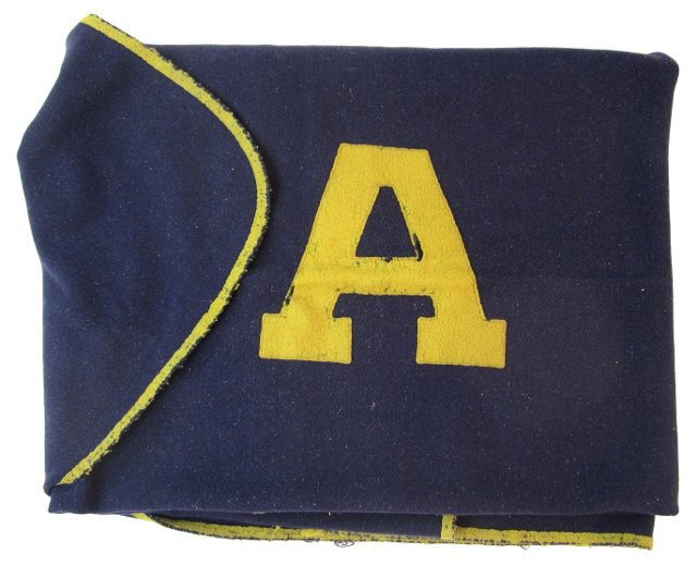 Navy Blue Stadium Blanket