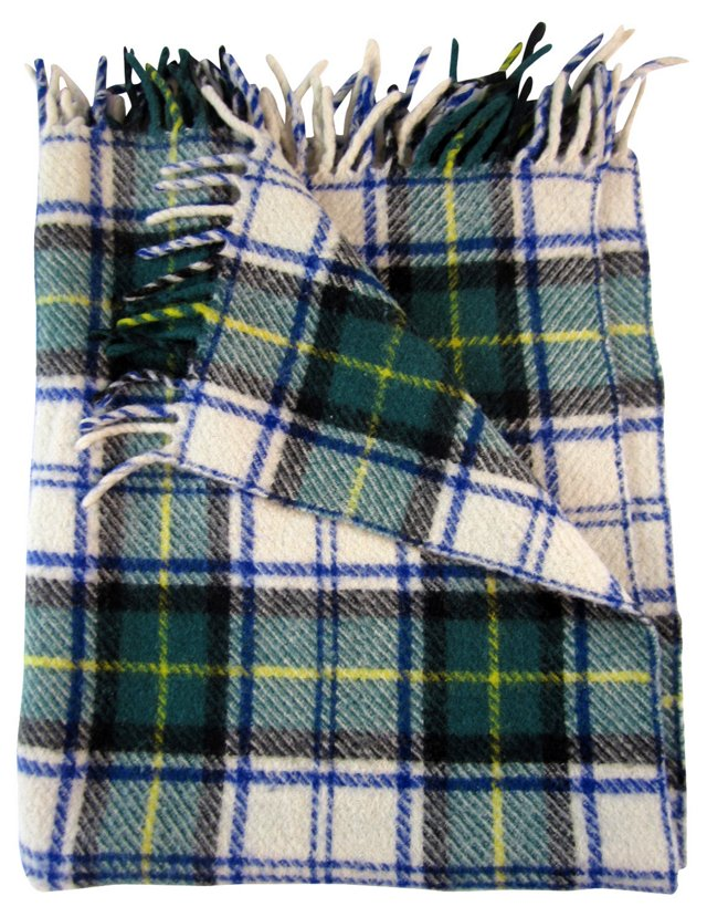 Campbell Tartan Throw