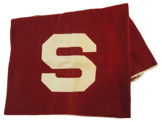 Red & Cream S Blanket