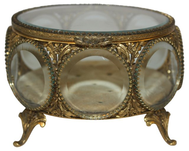 French Ormolu Casket