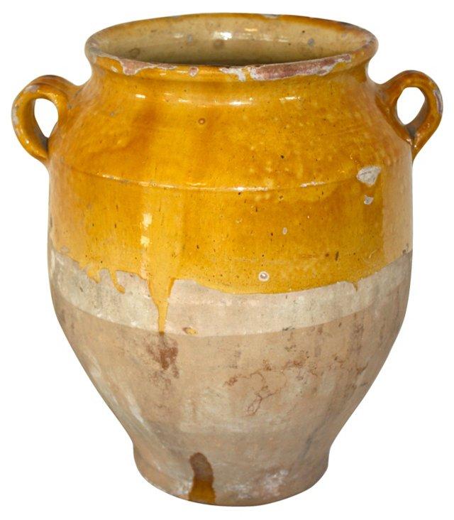 Antique Provence Confit Pot