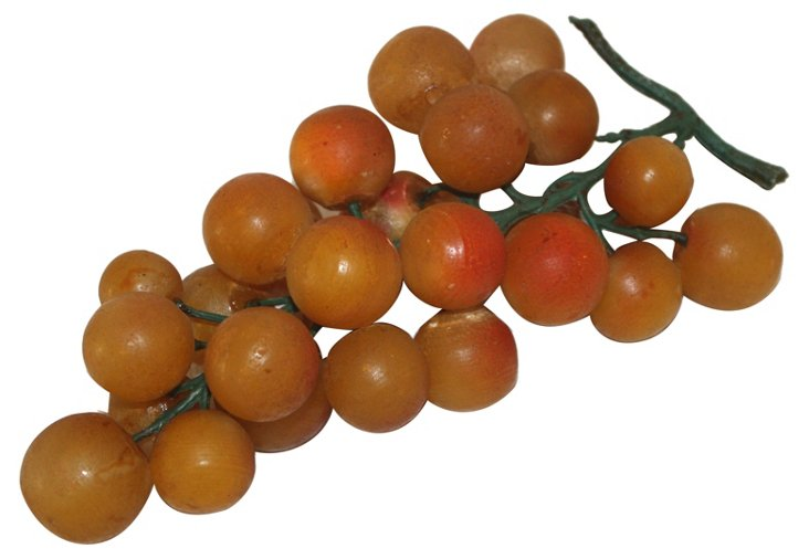 Painted Alabaster Grapes