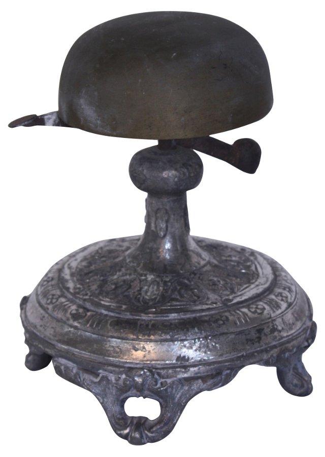 Antique Hotel Front Desk Bell
