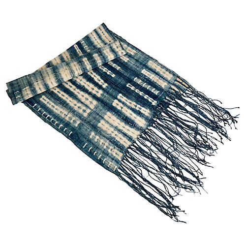 Mali Indigo Table Runner