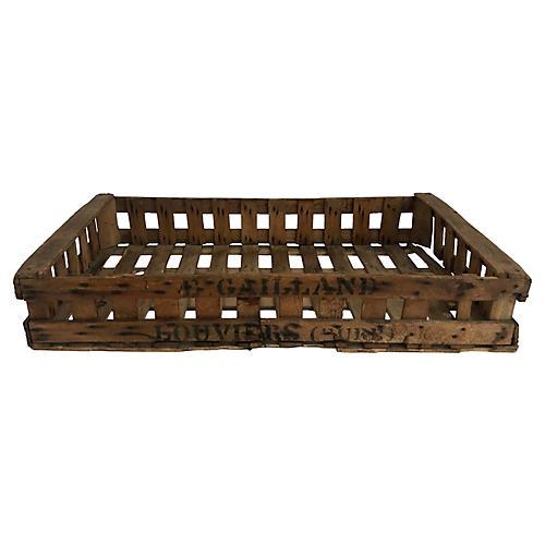 Belgian Farmhouse Fruit Crate