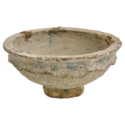 Handcrafted Papier-Mâché Bowl