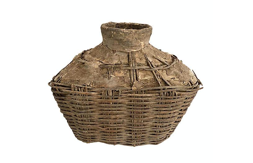 Rustic Chinese Fisherman's Basket