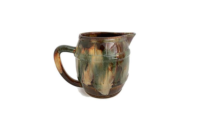 1940s America Studio Pottery PItcher