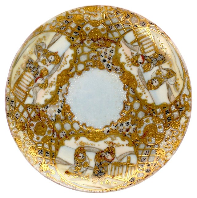 Ming Gold-Encrusted Marriage Plate