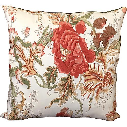 Bennison Tree Flower Pillow