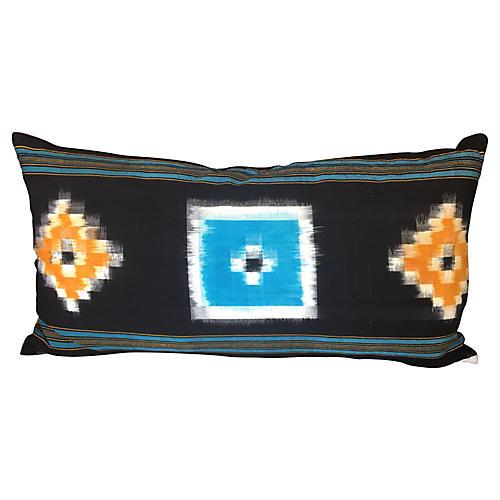 Tribal Abstract Lumbar Pillow
