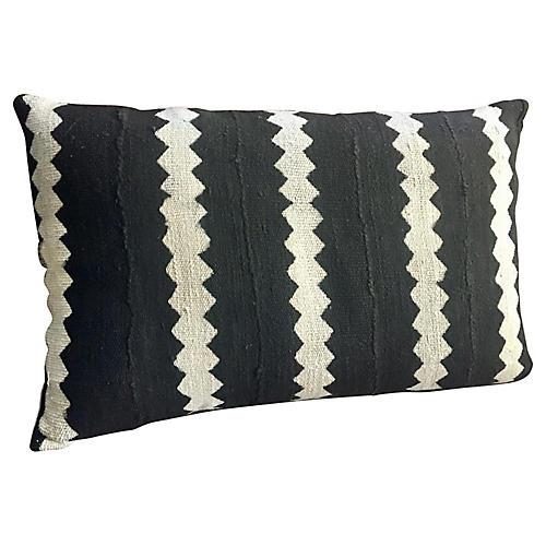 Zigzag Mud-Cloth Pillow