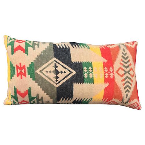 Camp Blanket Lumbar Pillow