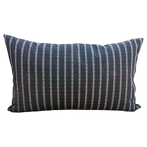 Tribal Canvas Lumbar Pillow