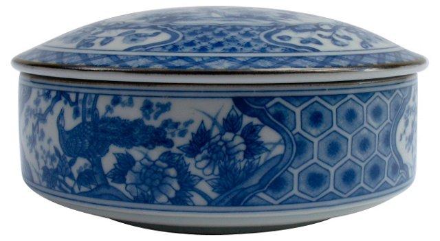 Classic Blue & White Chinoiserie Box