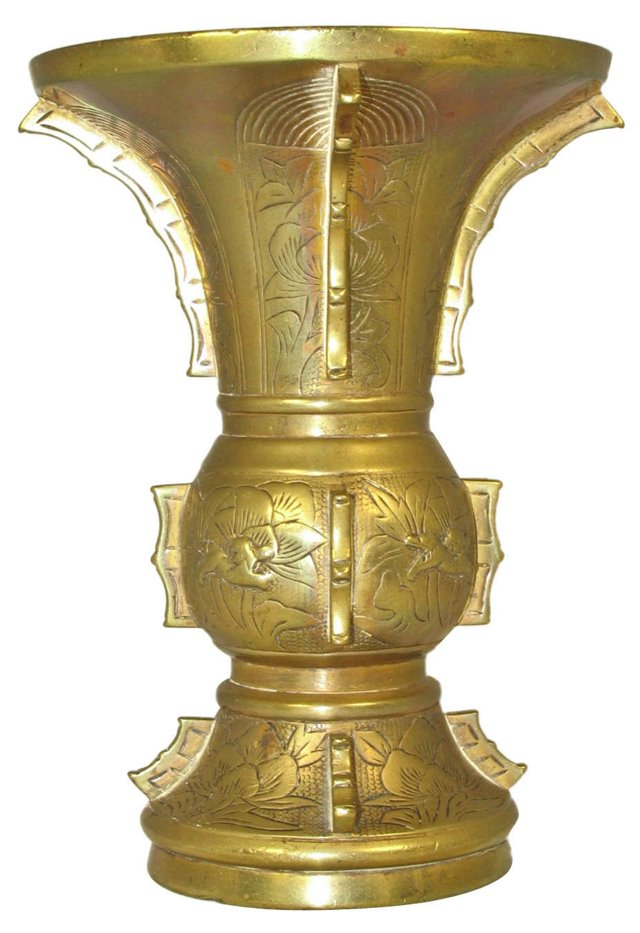 Archaic Form Temple Vessel