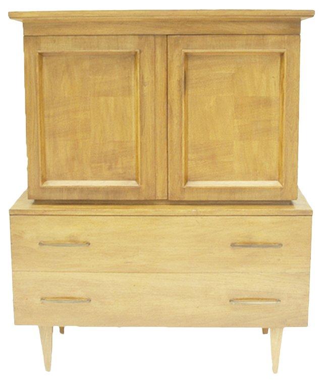 Mid-Century Modern High Boy Dresser