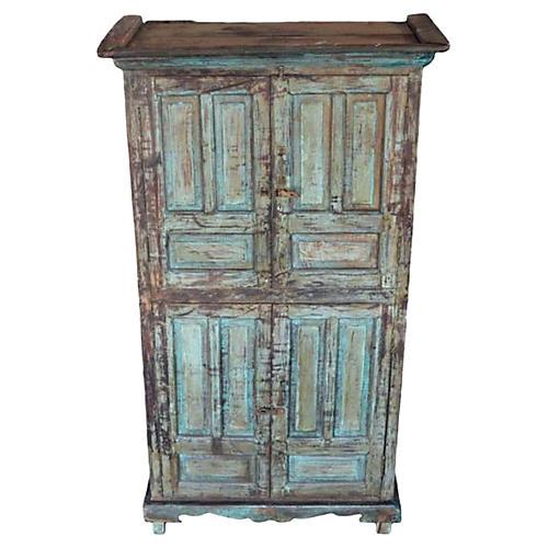 Antique Hand-Carved Goan Cabinet